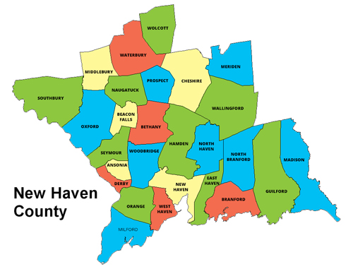new-haven-county-map